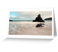 Long exposure on Sango Bay Greeting Card
