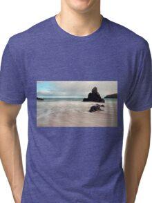 Long exposure on Sango Bay Tri-blend T-Shirt