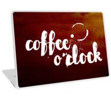 Coffee o'clock Laptop Skin
