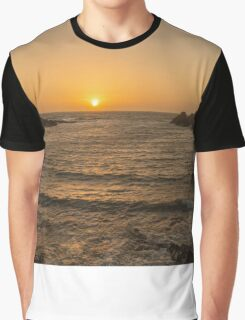 Sunset at Portpatrick Graphic T-Shirt