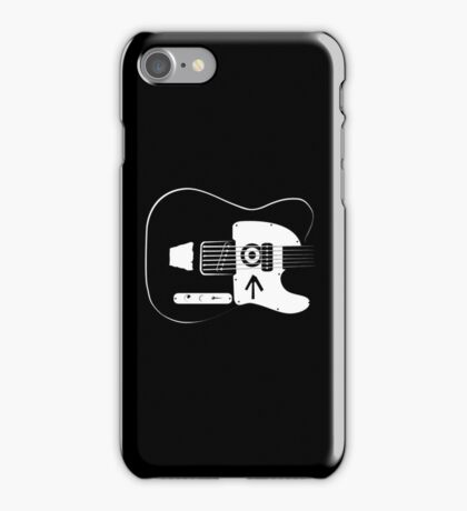 Ed's Custom Guitar! iPhone Case/Skin