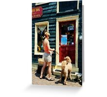 Please Can I Have A Treat Greeting Card