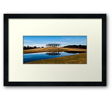 Skogskyrkogården - UNESCO World Heritage Site Framed Print