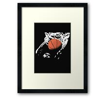 slam! Framed Print