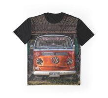 HDR Orange Volkswagen mini van Graphic T-Shirt