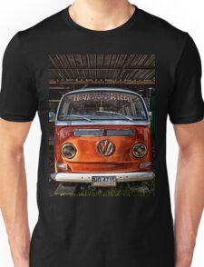 HDR Orange Volkswagen mini van Unisex T-Shirt