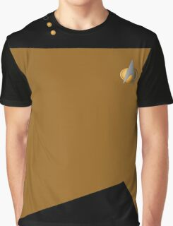 Star Trek Engineering & Security Uniform Graphic T-Shirt