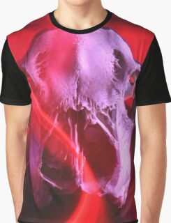 Deer of Synthwave Graphic T-Shirt