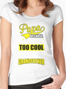 Cool dad Women's Fitted Scoop T-Shirt