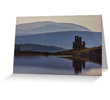 Ardvreck Castle and Loch Assynt Greeting Card