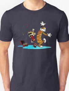 Calvin and Hobbes Dance Unisex T-Shirt
