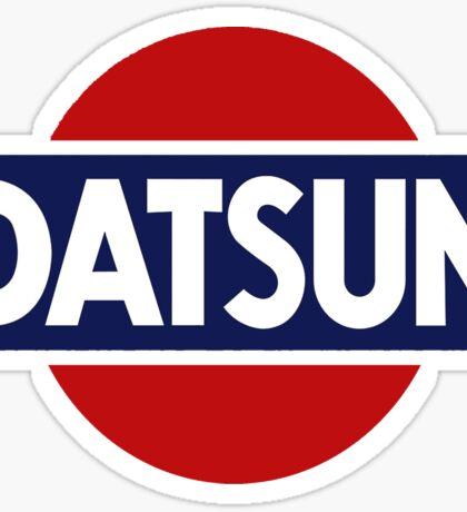 Old School Datsun Car Shirt, Sticker, Case, Skin, Poster, Mug Old School Classic Sticker