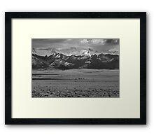 San Luis Valley Framed Print