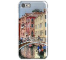 Everyday life in Venice iPhone Case/Skin