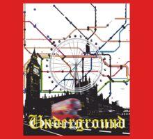 Underground Overground Kids Tee