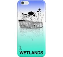 Wetlands (Colored for LG, original lines for Bladensburg State Park) iPhone Case/Skin