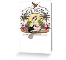 sugar tropics Greeting Card