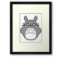PIXEL chibi friend Framed Print