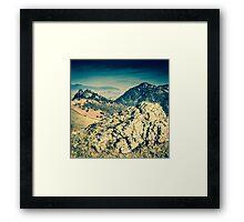 Borrowdale Valley, Lake District Framed Print