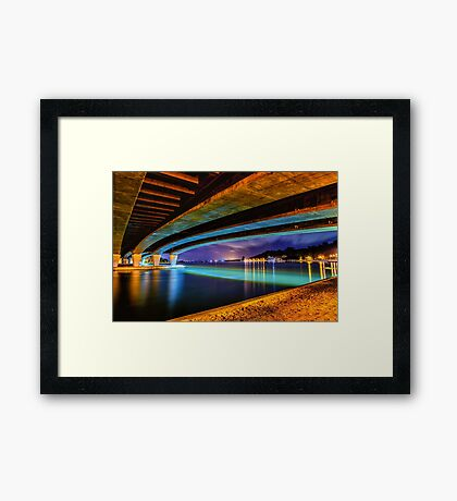 The Narrows West Framed Print