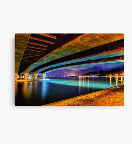 The Narrows West Canvas Print