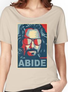 The Dude Abides (The Big Lebowski) Women's Relaxed Fit T-Shirt