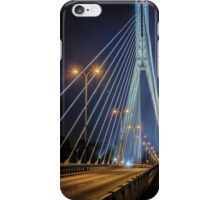 Swietokrzyski Bridge iPhone Case/Skin
