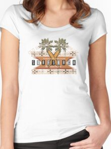 old hawaii surf club Women's Fitted Scoop T-Shirt