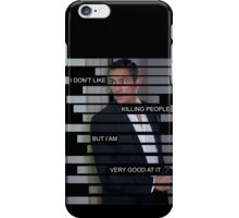 Reese - Person of interest - Quote iPhone Case/Skin