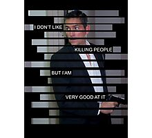 Reese - Person of interest - Quote Photographic Print