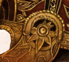 Rohirrim Battle helmet Sticker