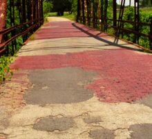 Route 66 - One Lane Bridge Sticker