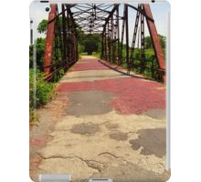Route 66 - One Lane Bridge iPad Case/Skin