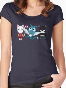 Fairy tail - Kawaii team Women's Fitted Scoop T-Shirt