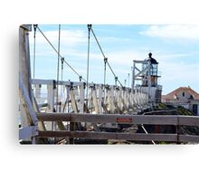 Point Bonita Lighthouse Bridge Canvas Print