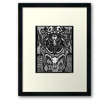 An Altar for Hugin & Munin Framed Print
