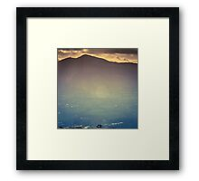 View over Keswick, Cumbria Framed Print