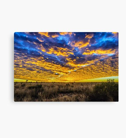 Tanami Desert Sunset Canvas Print