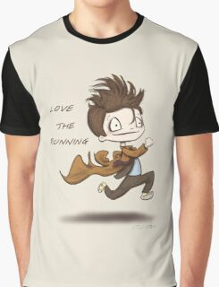 "Doctor Who - ""Love the Running"" Graphic T-Shirt"