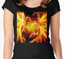 Fire Fight Women's Fitted Scoop T-Shirt