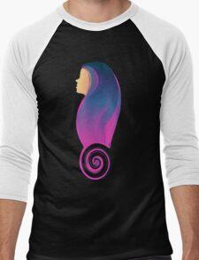 Hipster long-hair sweet Girl Men's Baseball ¾ T-Shirt
