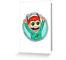 Pancake Girl Greeting Card