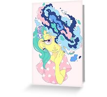 SPACE ON THE MIND Greeting Card