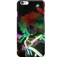 Lightup robot clown iPhone Case/Skin