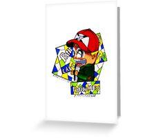 Pancake Boy Greeting Card