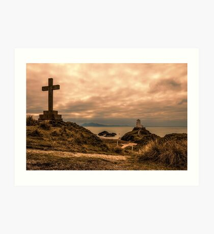 Llanddwyn Island  Art Print