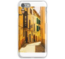 An alley in Palma de Mallorca. iPhone Case/Skin