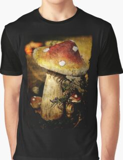 Fungi Fun Graphic T-Shirt