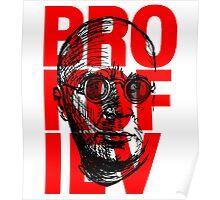 Brokofiev in Red Poster