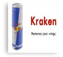 The Kraken Kerbal Drink Canvas Print